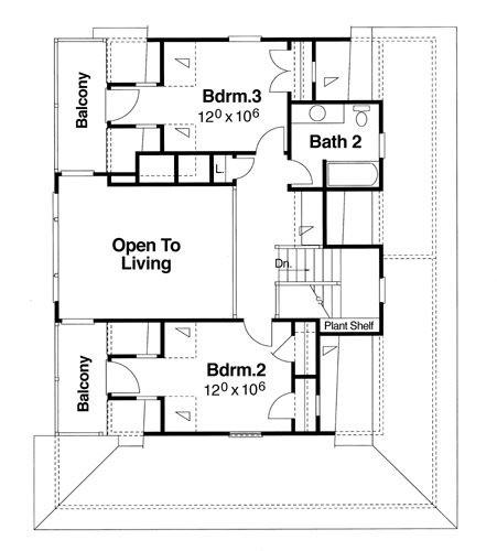 House Sparrow House Plan House Plan Resource