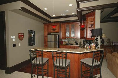 Kitchen/Keeping/Breakfast Area by DFD House Plans