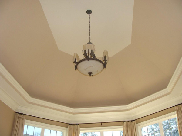 Ceiling Treatment by DFD House Plans