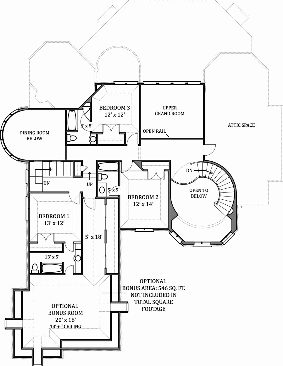 House hennessey house house plan green builder house plans for 2nd floor house plan