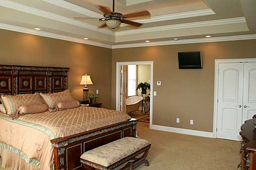 Master Bedroom image of Westover House Plan