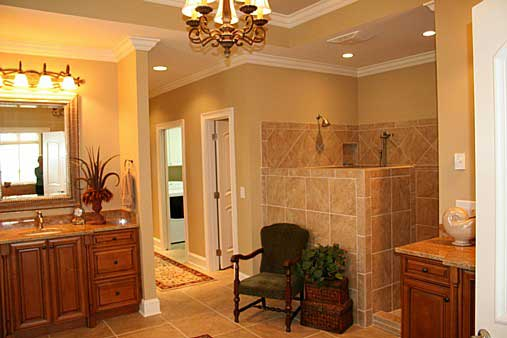 Master Bath image of Westover House Plan