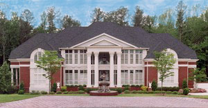 Front Exterior Photo by DFD House Plans