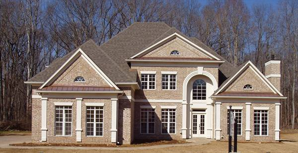 Front Exterior Photo image of Westover House Plan