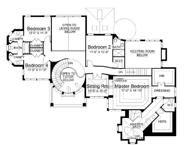 kimbolton castle principal floor estate plans elevations - castle