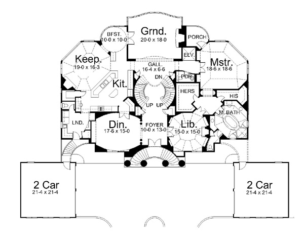 Italian Villa House Plans house villa capri house plan - green builder house plans