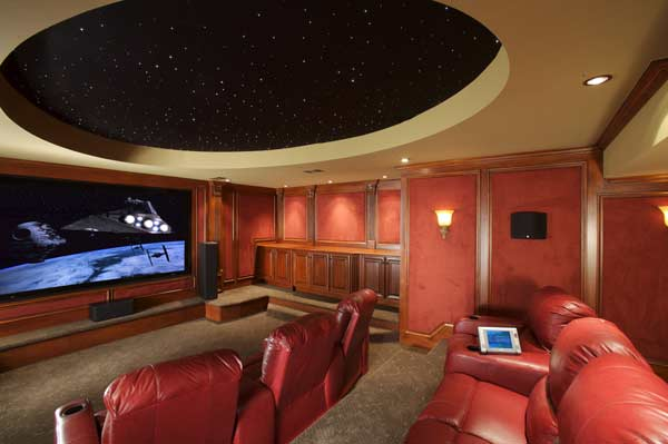 Home Theatre by DFD House Plans