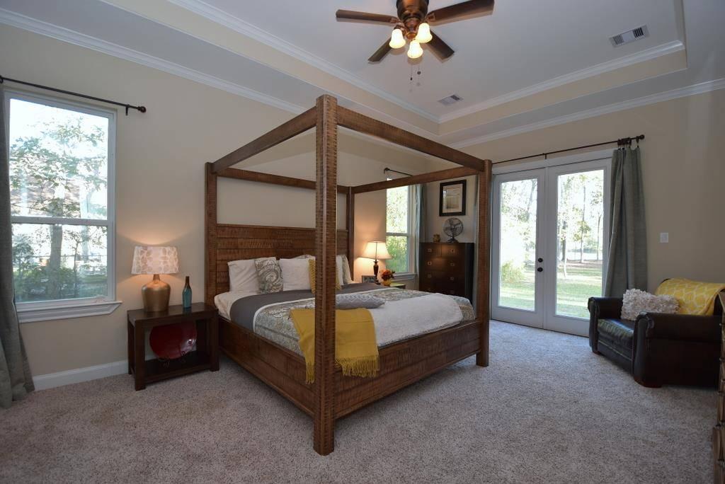 Master Bedroom image of Tres Le Fleur House Plan