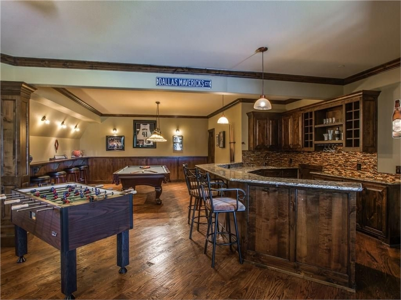 Bar Above Garage by DFD House Plans
