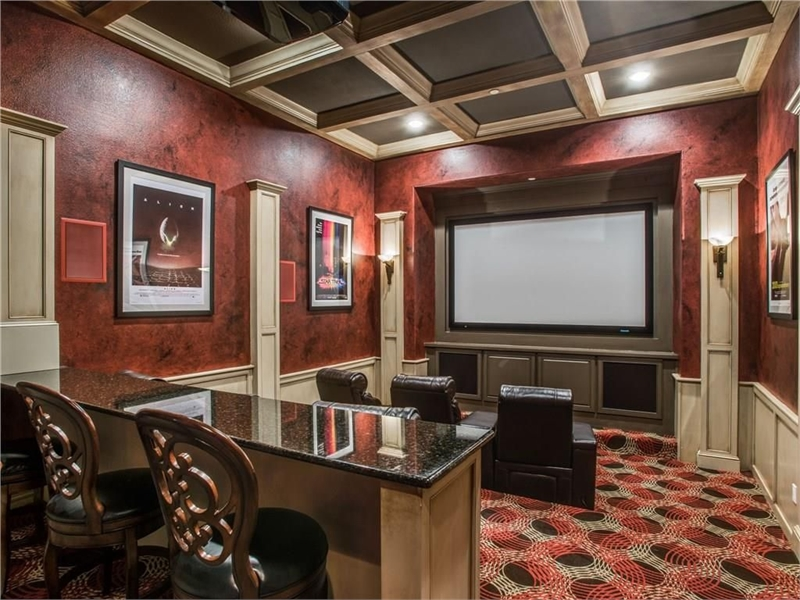 Theater by DFD House Plans