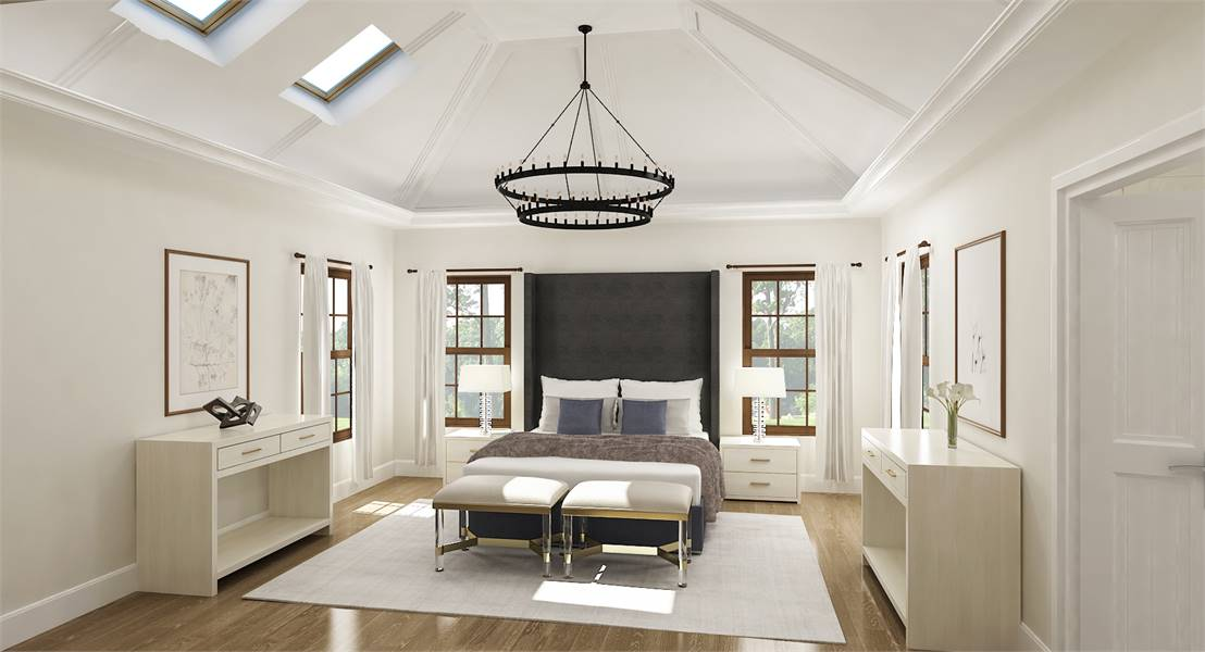 Master Bedroom image of Linnwood House Plan