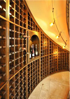 Wine Cellar image of Salem House Plan