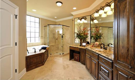 Master Bath image of Salem House Plan
