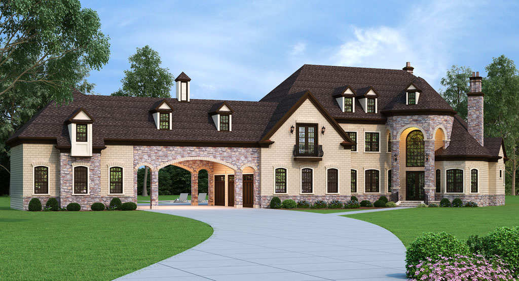 Front image of Lady Rose House Plan