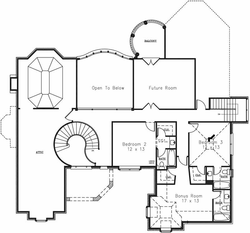 French Country House Plan With 4 Bedrooms And 4 5 Baths Plan 4277