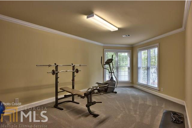 Gym by DFD House Plans