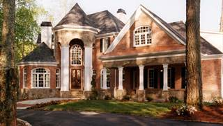 Colonial Home Plans with In-Law Suite by DFD House Plans