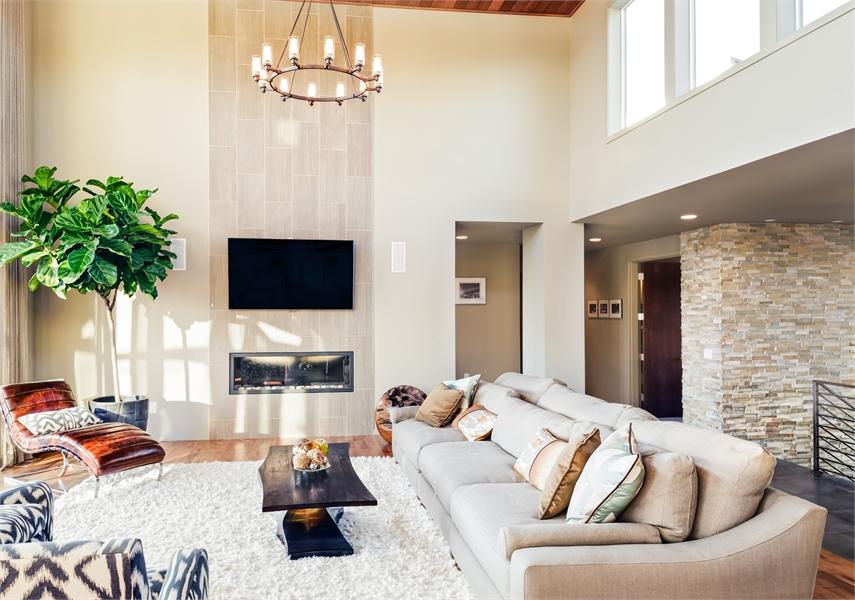 Living Room image of Pomfret House Plan