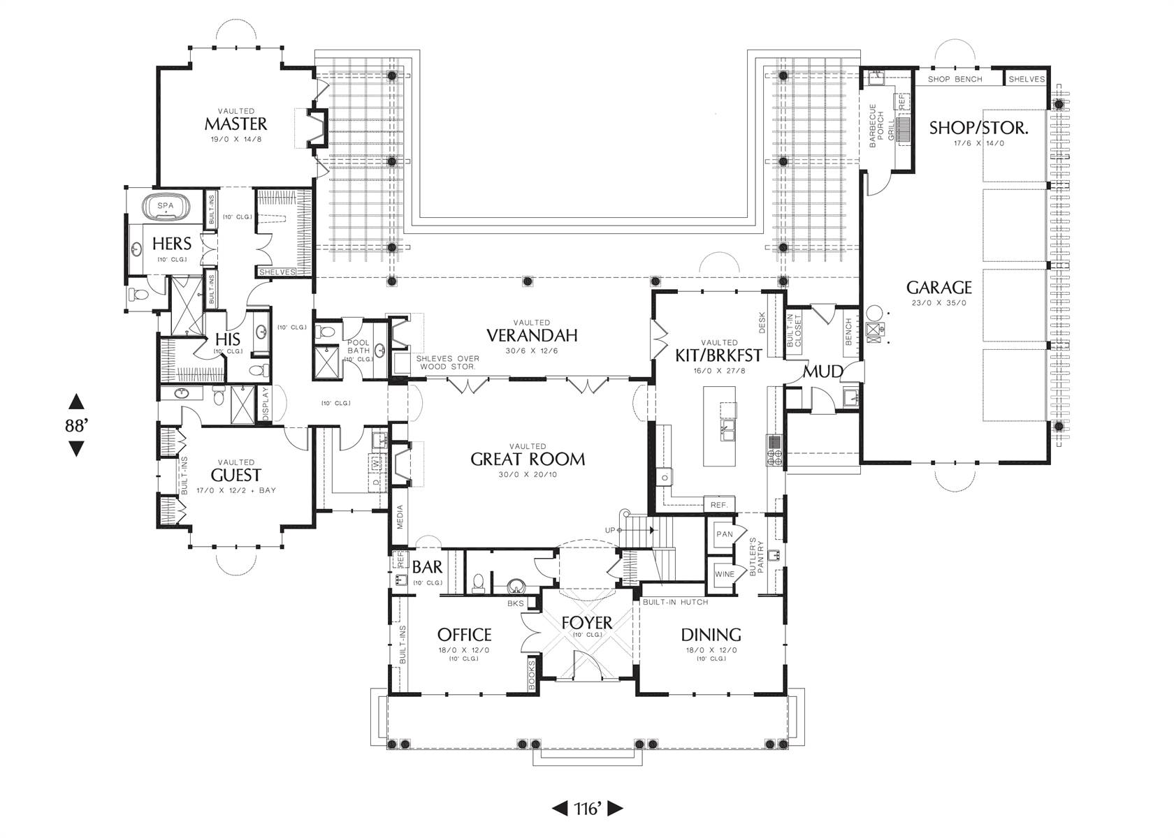 1st Floor image of Stoneham House Plan