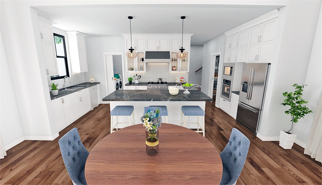 8310 Kitchen by DFD House Plans