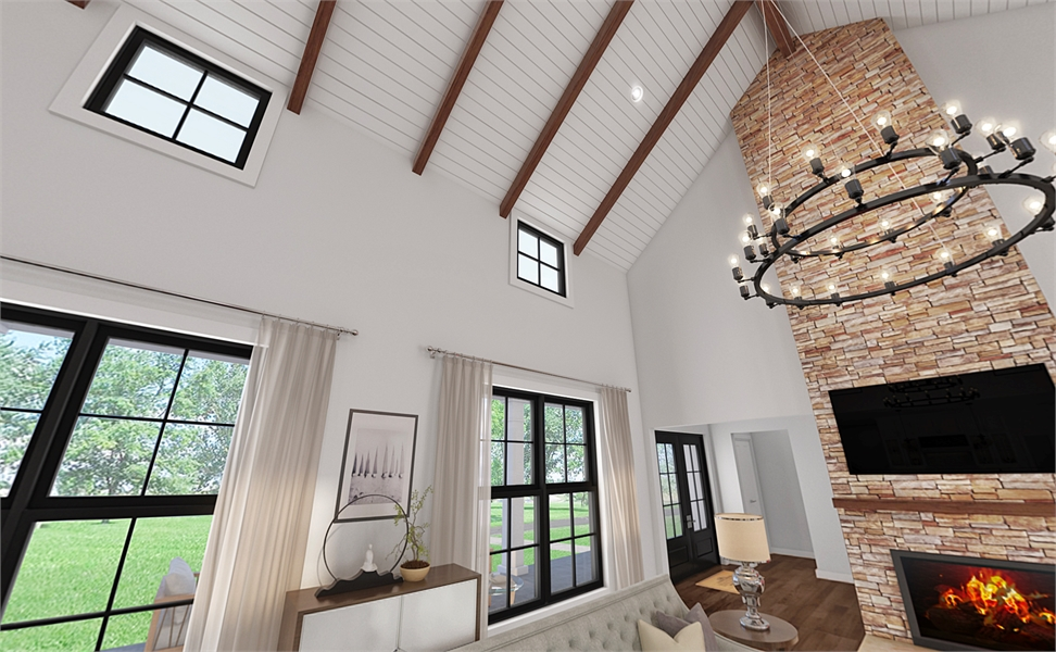 8310 Vaulted Ceiling by DFD House Plans
