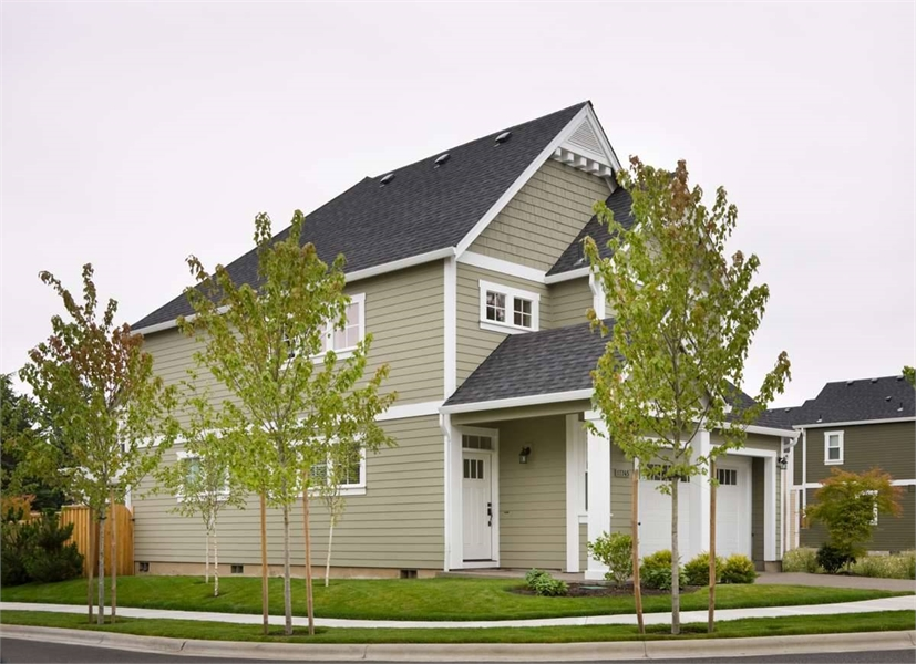 Side Exterior by DFD House Plans