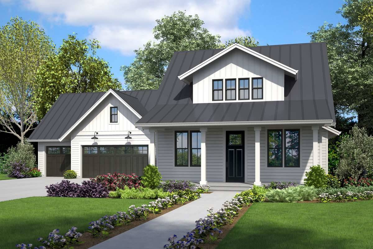 Front Rendering image of Alerus House Plan