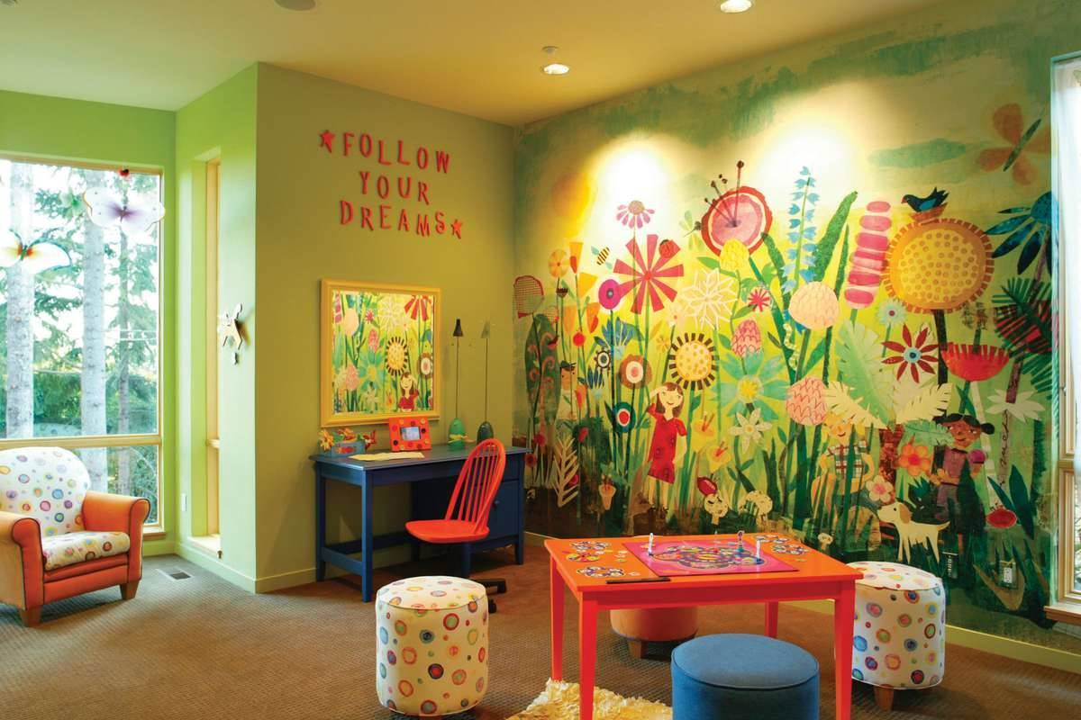 Playroom by DFD House Plans