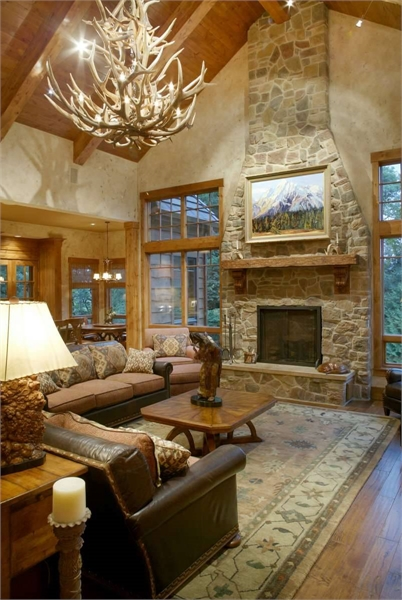 Great Room by DFD House Plans