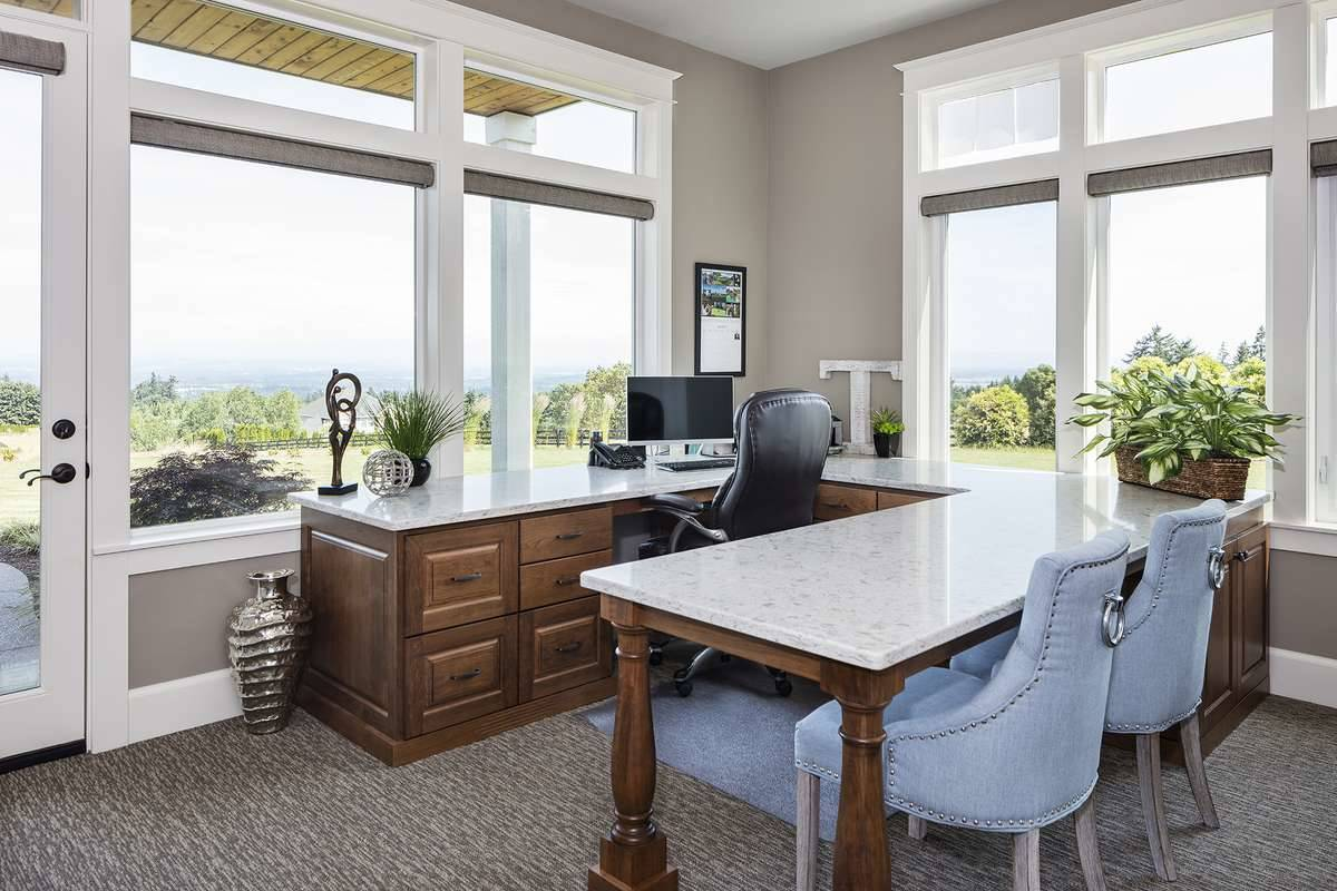 Office by DFD House Plans
