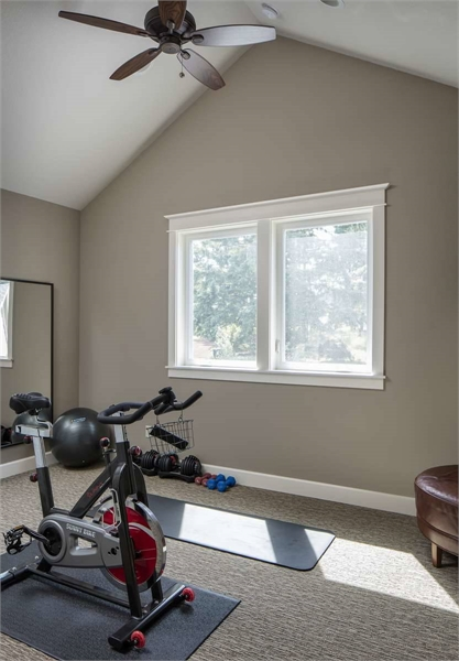 Exercise Room by DFD House Plans