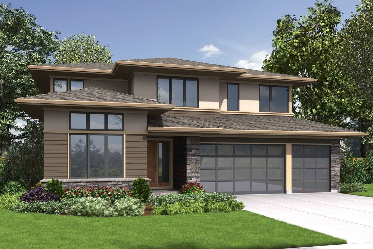Front Rendering image of Florida House Plan