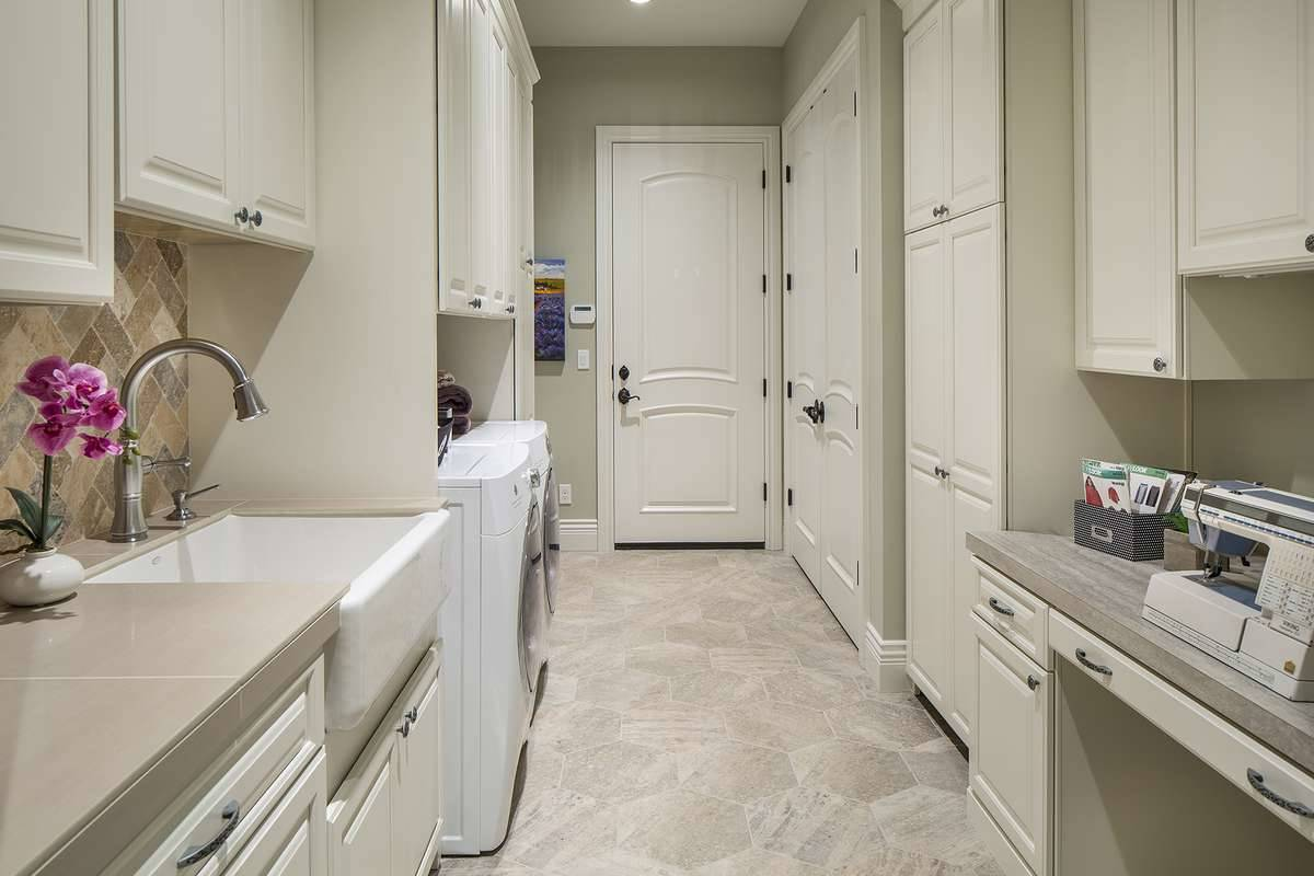 House Plan 6056: Laundry Room Design Ideas