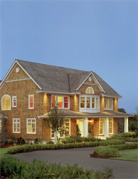 Front Exterior image of Stoneham House Plan
