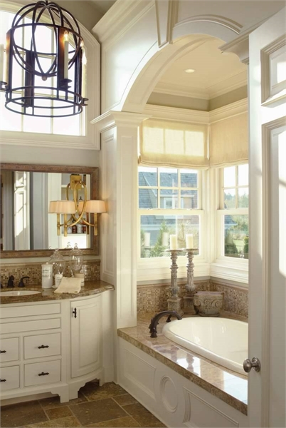 Master Bathroom image of Stoneham House Plan