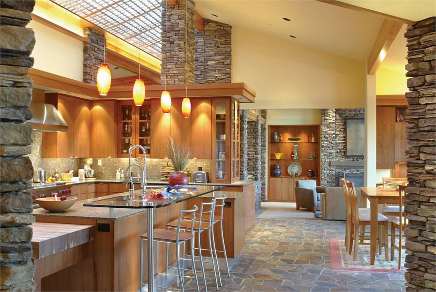 Kitchen image of Keswick House Plan
