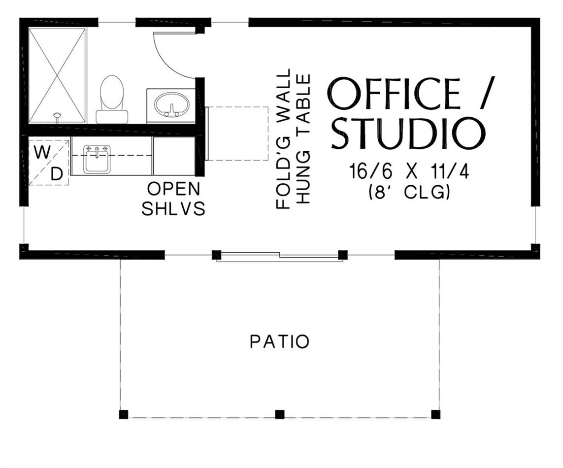 Main Floor Plan image of Sabrina House Plan