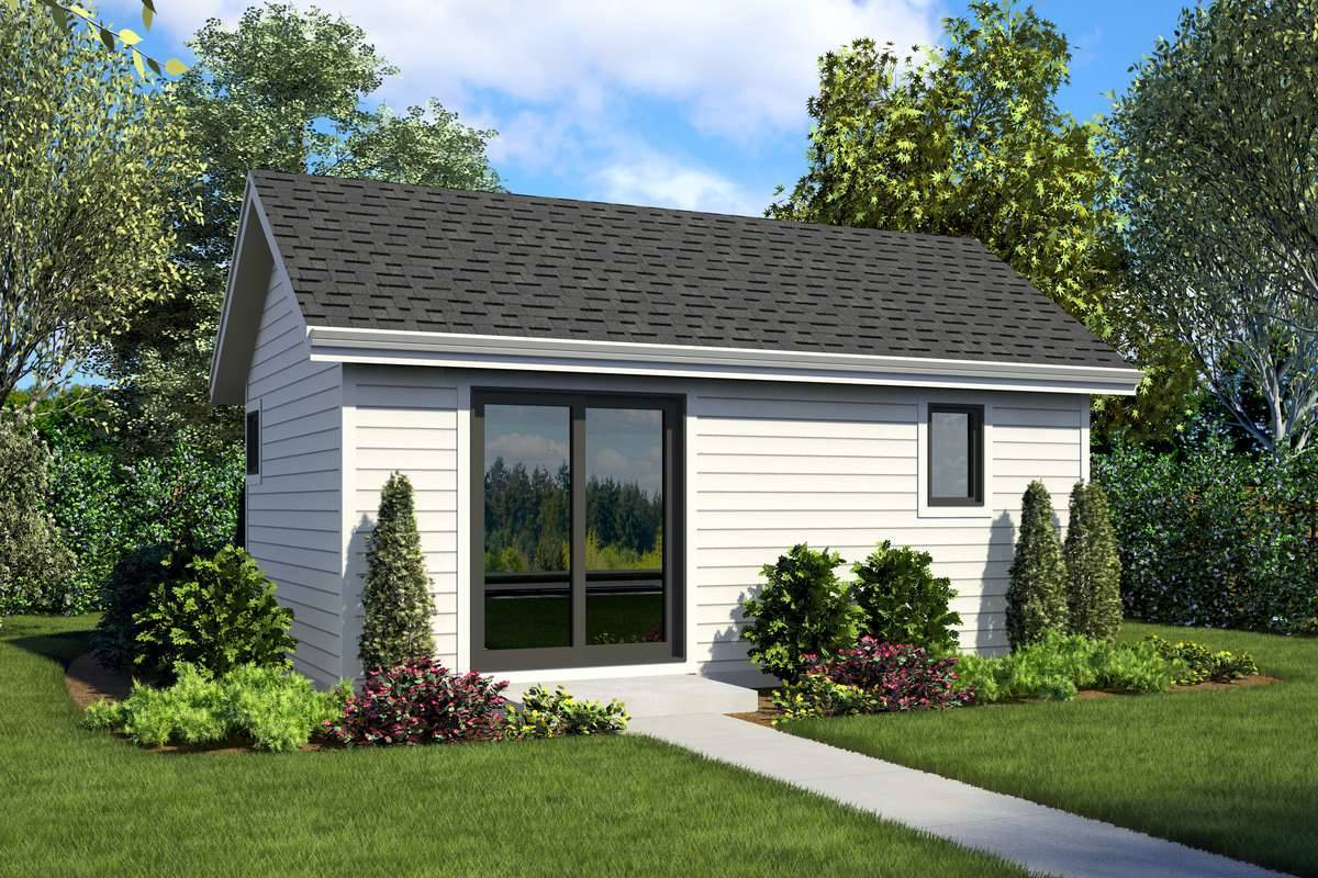Front Rendering image of Tolleson House Plan