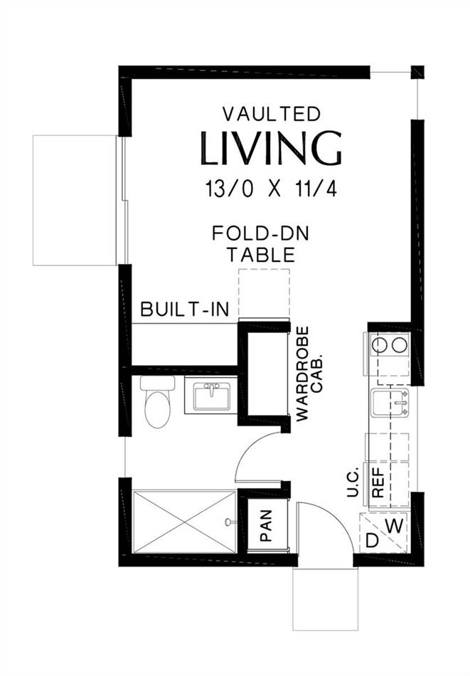 Main Floor Plan image of Tolleson House Plan