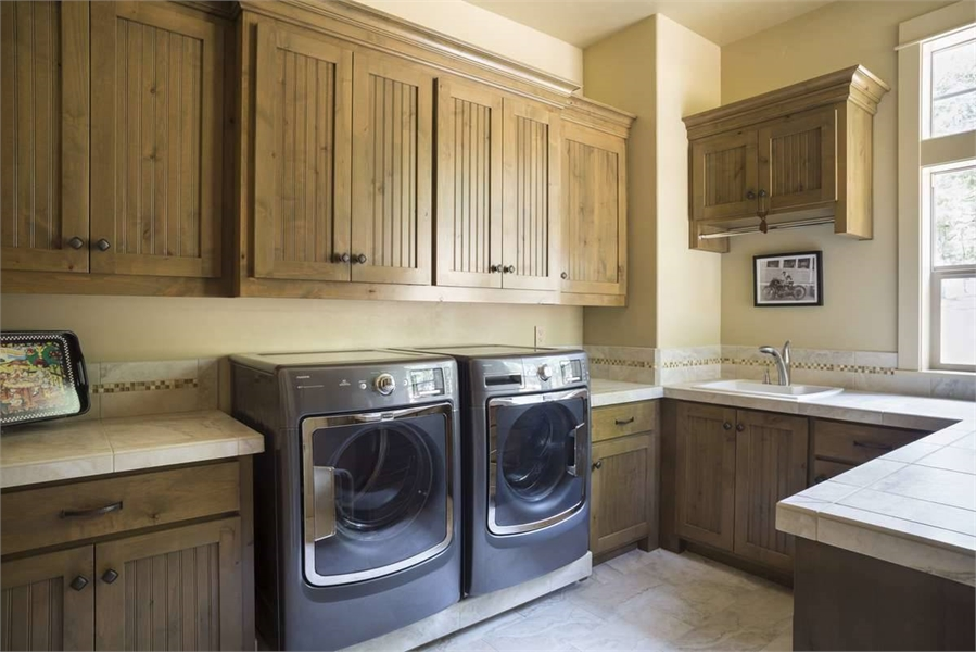 Laundry Room by DFD House Plans