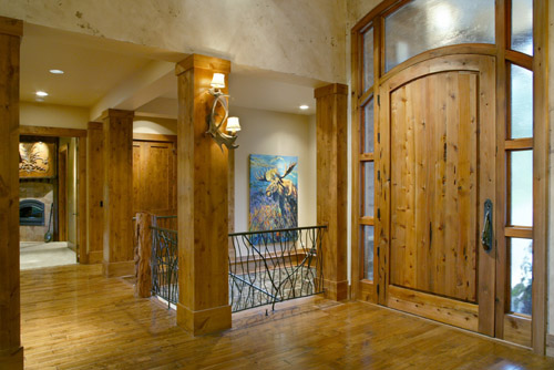 Foyer by DFD House Plans