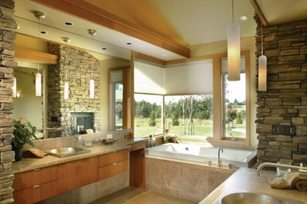 Master Bath image of Keswick House Plan