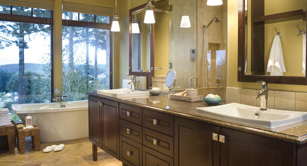 Master Bath image of Wayne House Plan