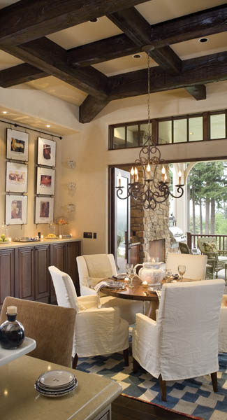 Dining Room image of Wayne House Plan