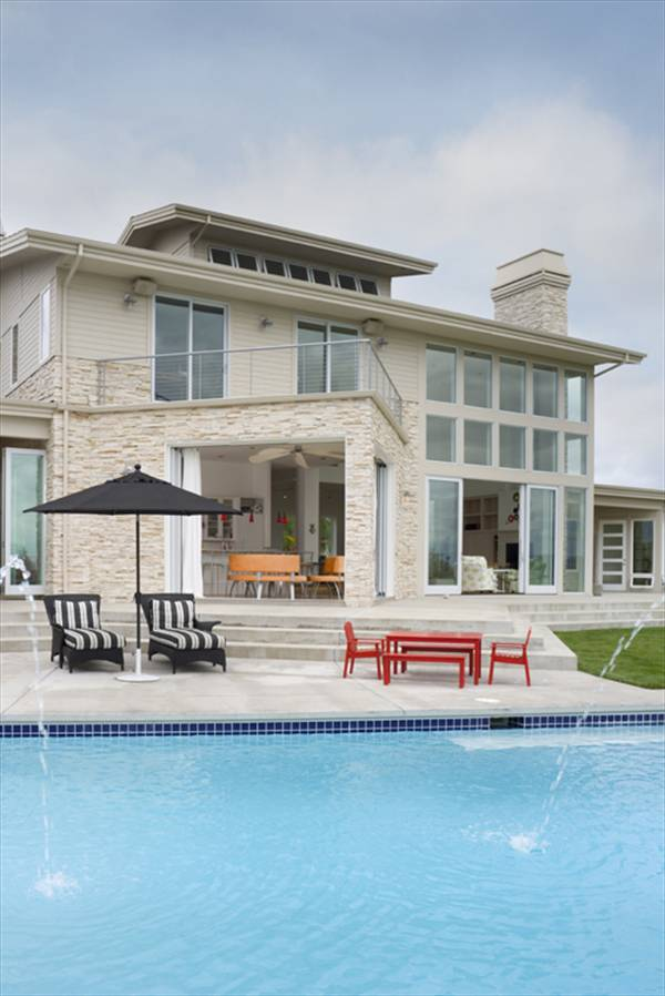 Outdoor Pool 2 by DFD House Plans