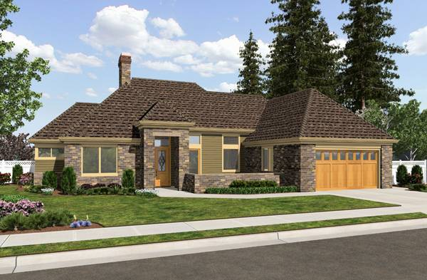 House Plan 2260: 2 Bedroom 2 Bath House Plans