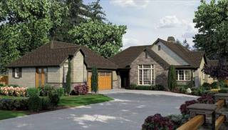 House Plans with In-Law Suite by DFD House Plans