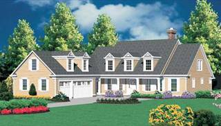 Colonial House Ideas by DFD House Plans