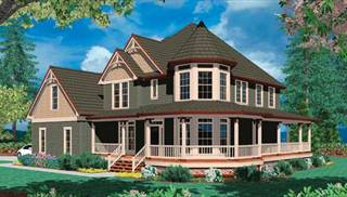 Victorian House Plans by DFD House Plans