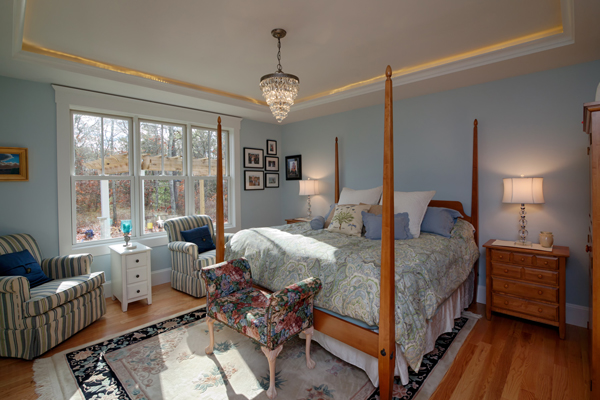 Master Bedroom image of Stratham House Plan